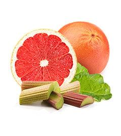 Grapefruit and Rhubarb